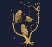Clockwork Owls Baby Tee