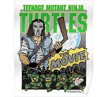 Ninja Turtles Retro First Movie 1990 Casey Jones Poster