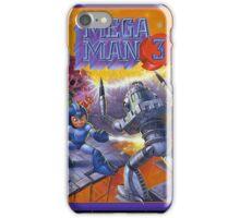 Mega Man 3 painting iPhone Case/Skin