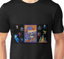 Mega Man 3 painting Unisex T-Shirt