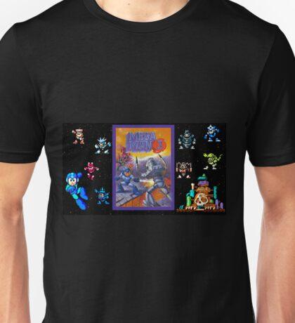 Mega Man 3 painting Unisex T-Shirt