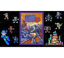 Mega Man 3 painting Photographic Print
