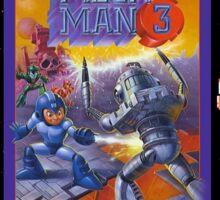 Mega Man 3 painting Sticker