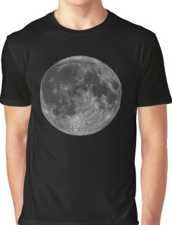 Lunar, MOON, Lunatic, Cosmos, Cosmic, Space, Near side of the Moon. Graphic T-Shirt