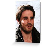 Killian Jones/Captain Hook Greeting Card