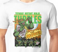 Ninja Turtles Retro First Movie 1990 Mikey Unisex T-Shirt
