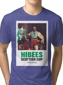 Hibs scottish Cup winners 2016 Tri-blend T-Shirt