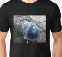 Urban Pigeon on City Sidewalk Unisex T-Shirt