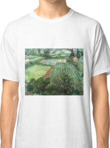 Vincent Van Gogh - Field With Poppies Classic T-Shirt