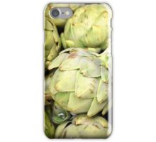Artichokes - Green: v2 | Kitchen Art iPhone Case/Skin