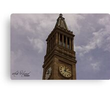 Clocktower Canvas Print