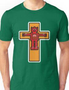 Robot Cruxifiction Unisex T-Shirt