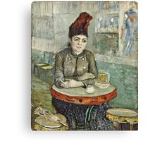 Vincent Van Gogh - In  Cafe Agostina Segatori In Le Tambourin, January 1887 - March 1887  Canvas Print
