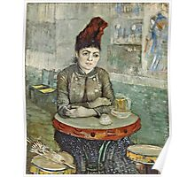 Vincent Van Gogh - In  Cafe Agostina Segatori In Le Tambourin, January 1887 - March 1887  Poster
