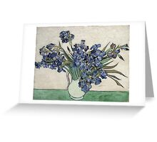 Vincent Van Gogh - Irises 2 Greeting Card