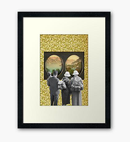 VIEW III Framed Print