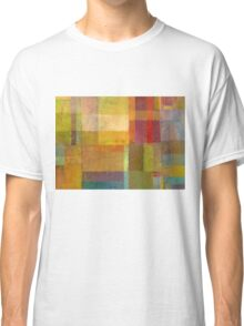 Color Collage with Green and Red Classic T-Shirt