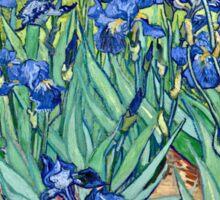 Vincent Van Gogh - Irises, 1889  Sticker