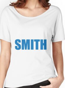 Smith (Blue) Women's Relaxed Fit T-Shirt