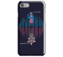 Now i am upside down iPhone Case/Skin