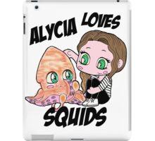 Alycia Loves Squids iPad Case/Skin