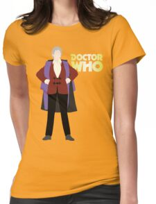 Doctor Who No. 3 Jon Pertwee - T-shirt Womens Fitted T-Shirt