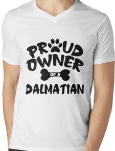 Proud Owner Of A Dalmatian Mens V-Neck T-Shirt