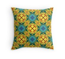 Always a Season for Sunflowers_ReImaged #4 Throw Pillow