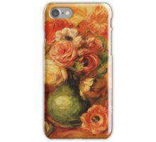 Renoir Auguste - Flowers iPhone Case/Skin