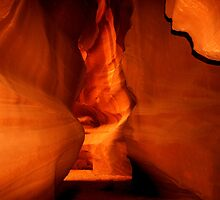 Antelope Canyon by barnsis