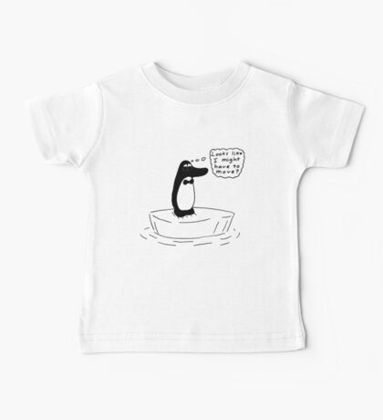Beau and the melting Ice Cap Baby Tee