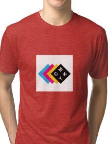 CMYK Tri-blend T-Shirt