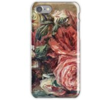Renoir Auguste - Discarded Roses  iPhone Case/Skin
