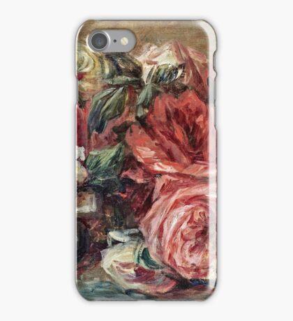 Renoir Auguste - Discarded Roses  iPhone Case/Skin