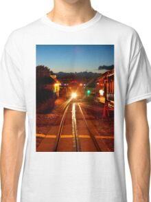 Hyde Street Cable Car in the Twilight Light Classic T-Shirt