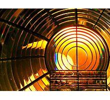 Lighthouse Fresnel Lens Photographic Print