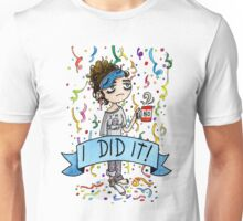 I did it! Watercolor Sticker Unisex T-Shirt