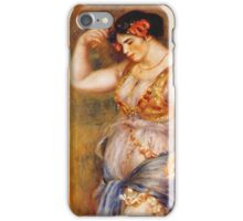 Renoir Auguste - Dancer With Castanettes 1909 iPhone Case/Skin