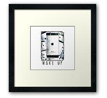 IBORING 6 - WAKE UP Framed Print