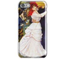 Renoir Auguste - Dance At Bougival 1883 iPhone Case/Skin
