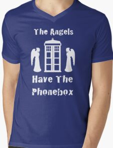 The Angels Have The Phonebox Mens V-Neck T-Shirt