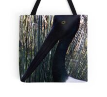 Silhouette Stalk Tote Bag
