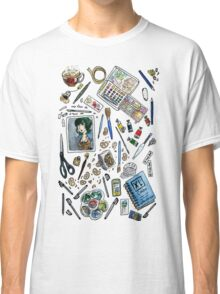 Arlie Opal's Art Supplies Sticker Classic T-Shirt