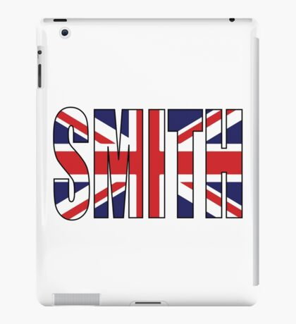 Smith (UK) iPad Case/Skin