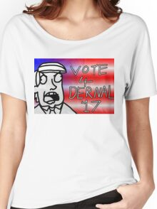 Vote 4 Dernel (Beau Benguin) Women's Relaxed Fit T-Shirt