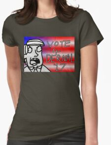 Vote 4 Dernel (Beau Benguin) Womens Fitted T-Shirt