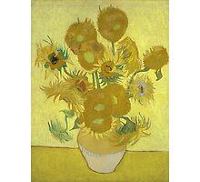 Vincent Van Gogh - Sunflowers 1989 Photographic Print