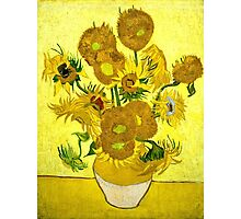 Vincent Van Gogh - Sunflowers, January 1889 - 1889  Photographic Print