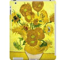 Vincent Van Gogh - Sunflowers, January 1889 - 1889  iPad Case/Skin