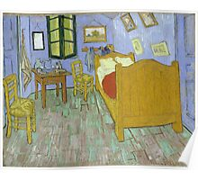 Vincent Van Gogh - Vincents Bedroom In Arles, 1889 Poster
